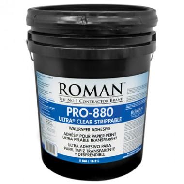 Roman Products, LLC: PRO-880 Ultra Clear Adh 18,9l - spotreba 0,13l/m2 - 12405