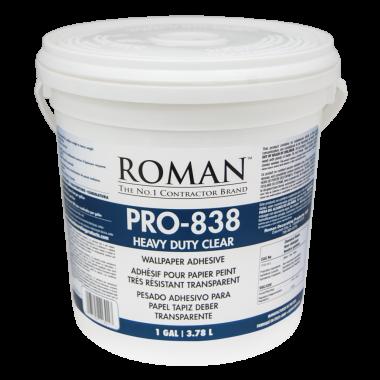 Roman Products, LLC: PRO-838 Heavy Duty Clear Adh 3,78l - spotreba 0,15l/m2 - 11301