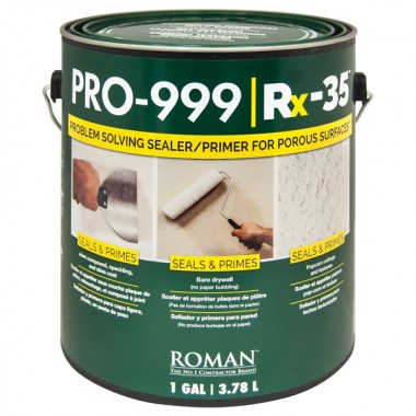 Roman Products, LLC: PRO-999 Rx35 Primer 3,78l  - spotreba 0,12l/m2 - 16901